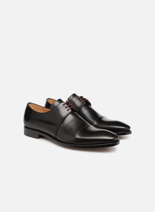 Zapatos con cordones Marvin&Co Luxe Cestephan - Cousu Goodyear Negro vista 3/4