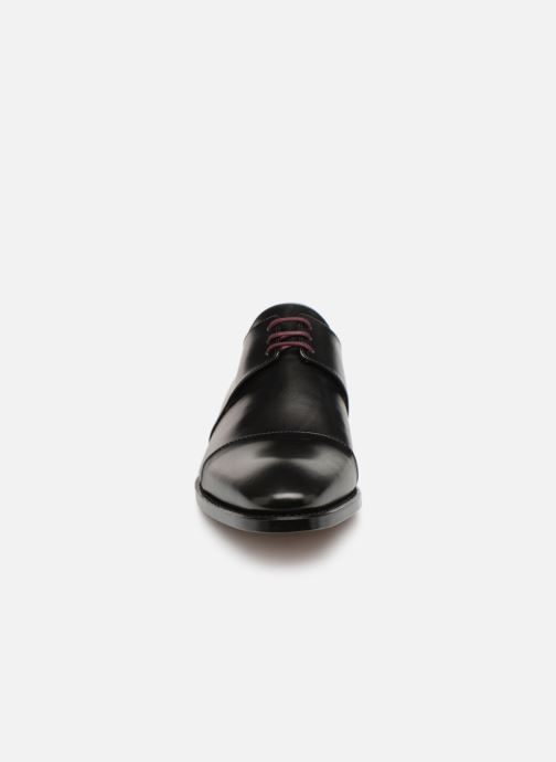 Lace-up shoes Marvin&Co Luxe Cestephan - Cousu Goodyear Black model view