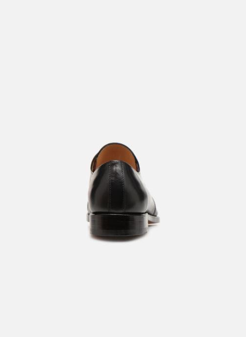 Zapatos con cordones Marvin&Co Luxe Cestephan - Cousu Goodyear Negro vista lateral derecha