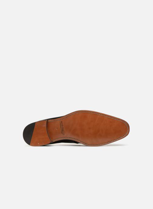 Zapatos con cordones Marvin&Co Luxe Cestephan - Cousu Goodyear Negro vista de arriba