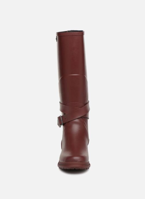 Bottes Aigle Macadames Bordeaux vue portées chaussures
