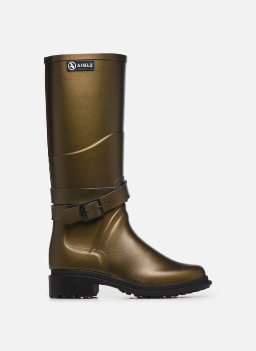 Boots & wellies Aigle Macadames Bronze and Gold back view