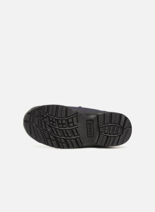 Chaussures de sport Aigle Icen Kid MTD Bleu vue haut