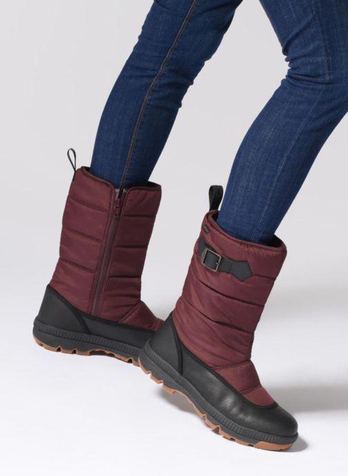 Chaussures de sport Aigle Twarm Hi W MTD Bordeaux vue bas / vue portée sac