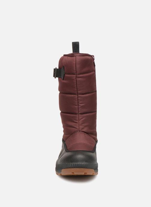 Chaussures de sport Aigle Twarm Hi W MTD Bordeaux vue portées chaussures