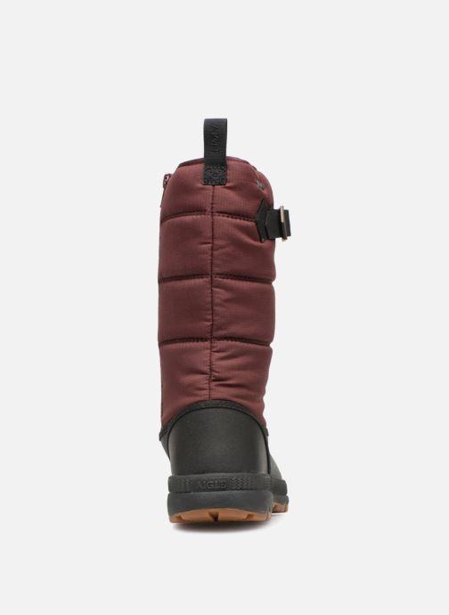 Chaussures de sport Aigle Twarm Hi W MTD Bordeaux vue droite