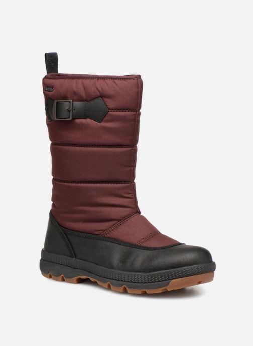Chaussures de sport Aigle Twarm Hi W MTD Bordeaux vue détail/paire