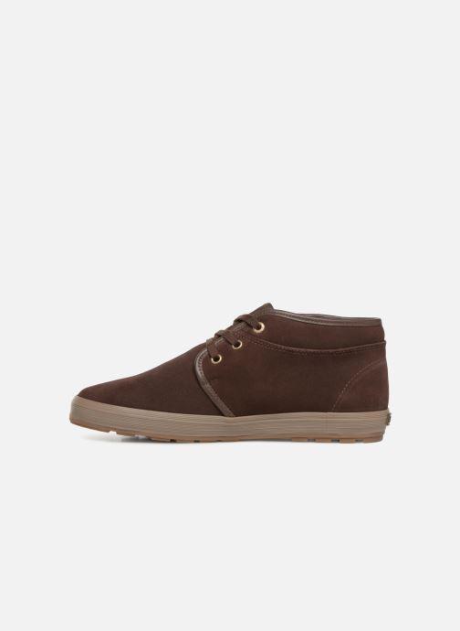 Chaussures à lacets Aigle Althae Cr Fur Marron vue face
