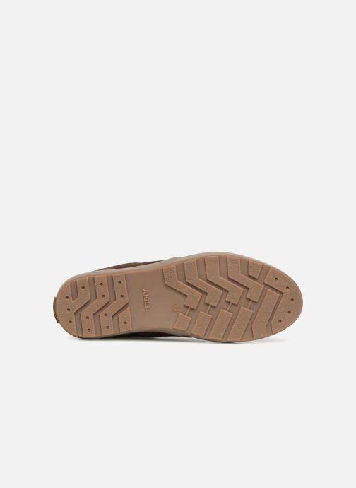 Chaussures à lacets Aigle Althae Cr Fur Marron vue haut