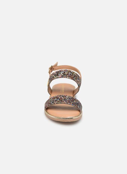 Sandales et nu-pieds Les Tropéziennes par M Belarbi Iena Multicolore vue portées chaussures