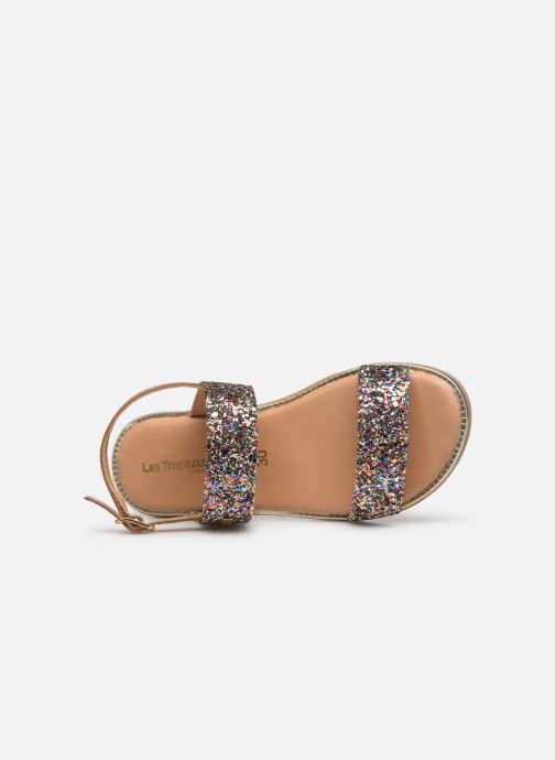 Sandales et nu-pieds Les Tropéziennes par M Belarbi Iena Multicolore vue gauche