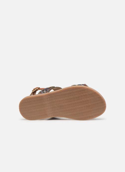 Sandales et nu-pieds Les Tropéziennes par M Belarbi Iena Multicolore vue haut