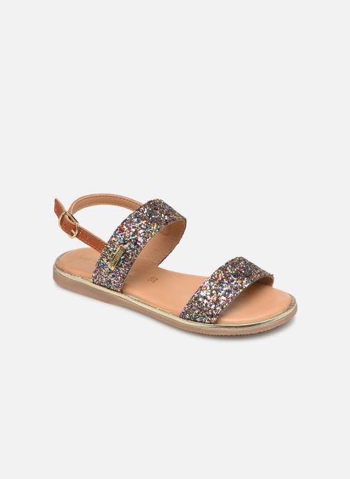 Sandales et nu-pieds Les Tropéziennes par M Belarbi Iena Multicolore vue détail/paire