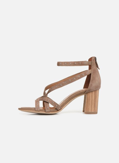 Sandales et nu-pieds Tamaris Abigail Marron vue face