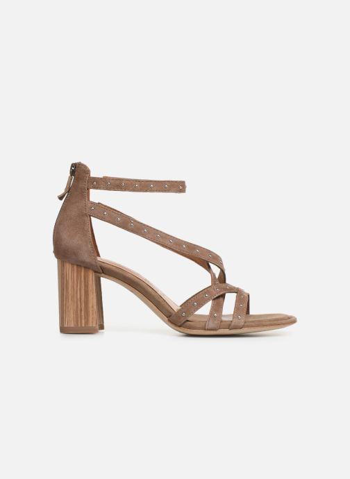Sandales et nu-pieds Tamaris Abigail Marron vue derrière