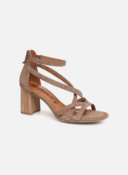 Sandales et nu-pieds Tamaris Abigail Marron vue détail/paire