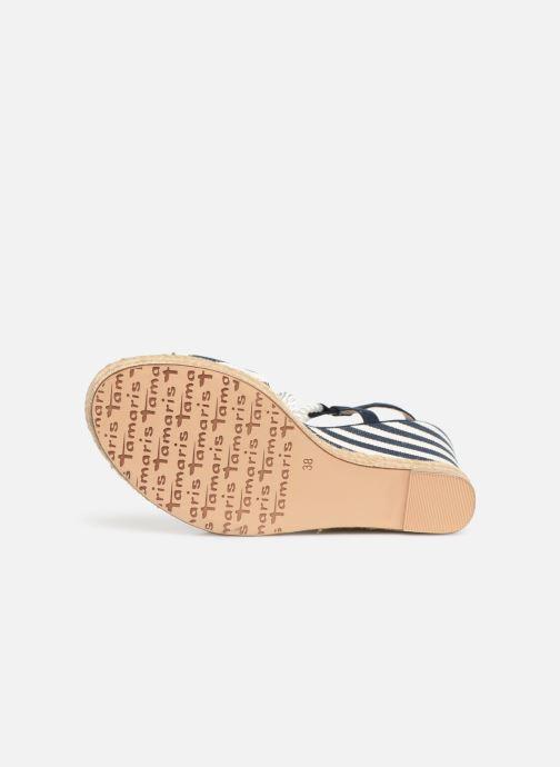 Scarpe di corda Tamaris Aimee Azzurro immagine dall'alto