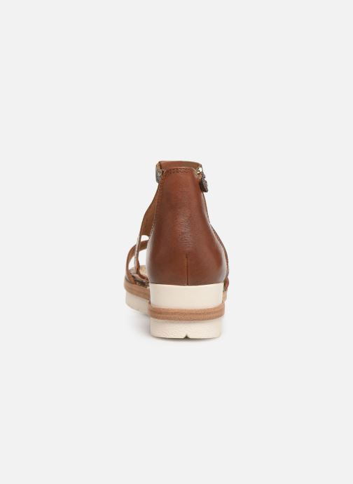 Sandales et nu-pieds Tamaris Aleah Marron vue droite