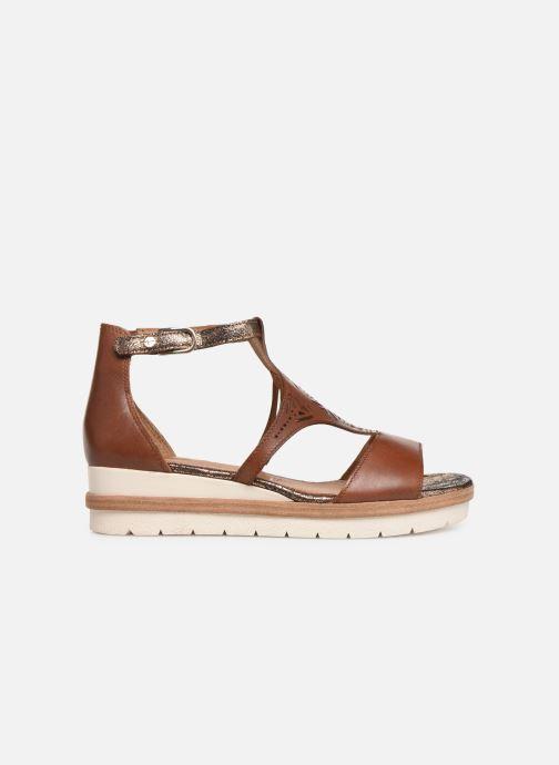 Sandales et nu-pieds Tamaris Aleah Marron vue derrière