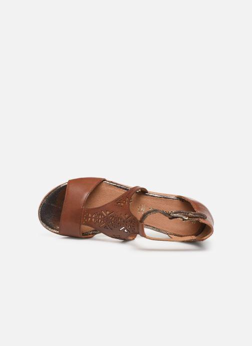 Sandales et nu-pieds Tamaris Aleah Marron vue gauche