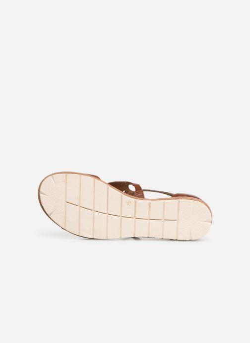 Sandales et nu-pieds Tamaris Aleah Marron vue haut