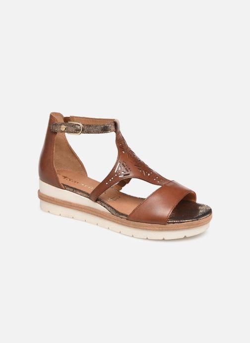 Sandales et nu-pieds Tamaris Aleah Marron vue détail/paire