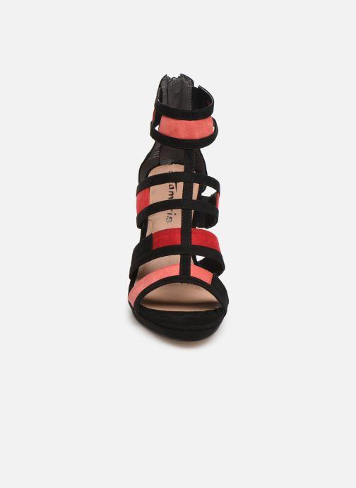 Sandales et nu-pieds Tamaris Betany Noir vue portées chaussures