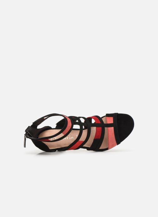 Sandales et nu-pieds Tamaris Betany Noir vue gauche
