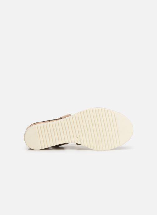 Sandales et nu-pieds Tamaris Bonnie Beige vue haut