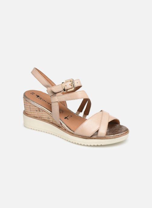 Sandales et nu-pieds Tamaris Bonnie Beige vue détail/paire