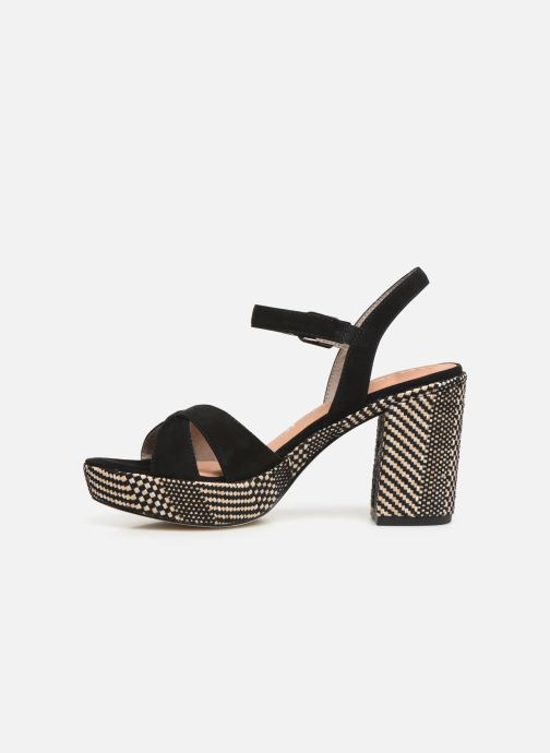Sandales et nu-pieds Tamaris Carolina Noir vue face