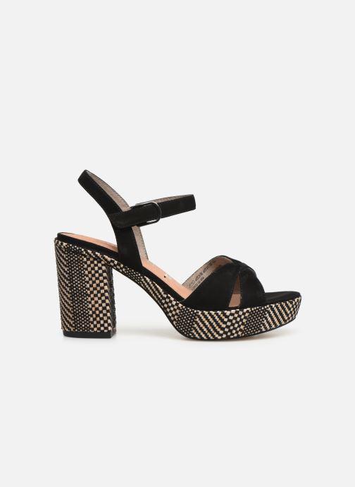 Sandales et nu-pieds Tamaris Carolina Noir vue derrière