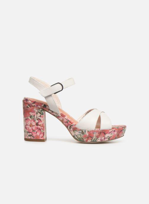 Sandales et nu-pieds Tamaris Carolina Blanc vue derrière
