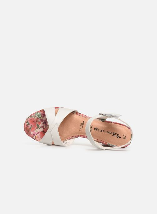 Sandales et nu-pieds Tamaris Carolina Blanc vue gauche