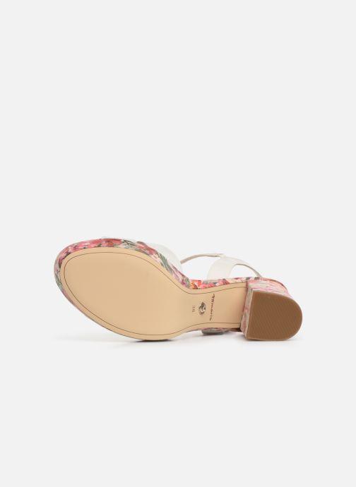 Sandales et nu-pieds Tamaris Carolina Blanc vue haut