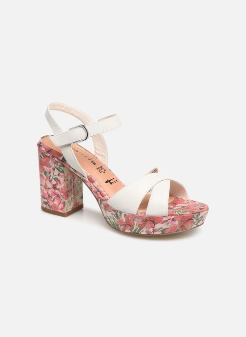 Sandales et nu-pieds Tamaris Carolina Blanc vue détail/paire