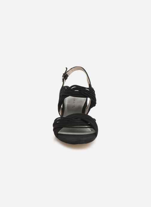 Sandales et nu-pieds Tamaris Chaya Noir vue portées chaussures