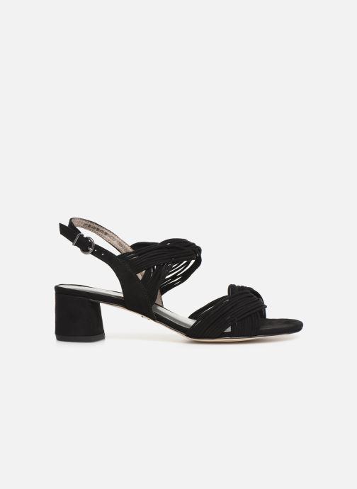 Sandales et nu-pieds Tamaris Chaya Noir vue derrière
