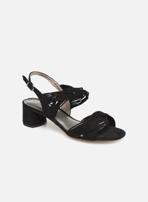 Sandales et nu-pieds Tamaris Chaya Noir vue détail/paire
