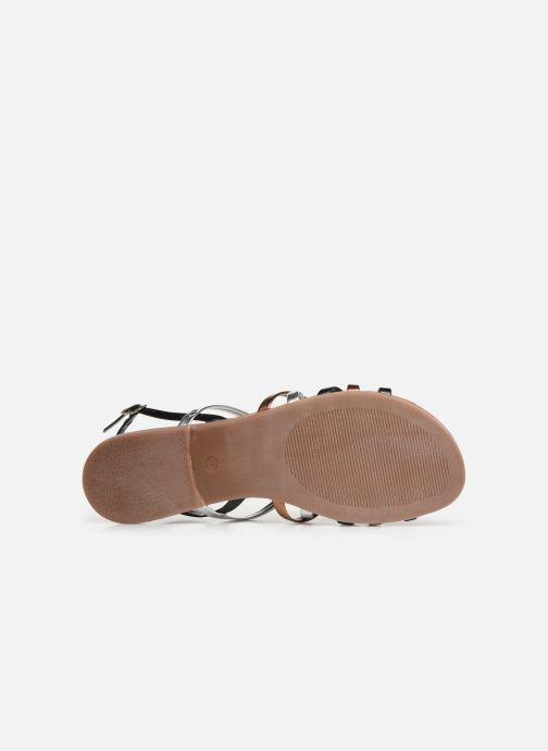 Sandales et nu-pieds Tamaris Chloe Noir vue haut