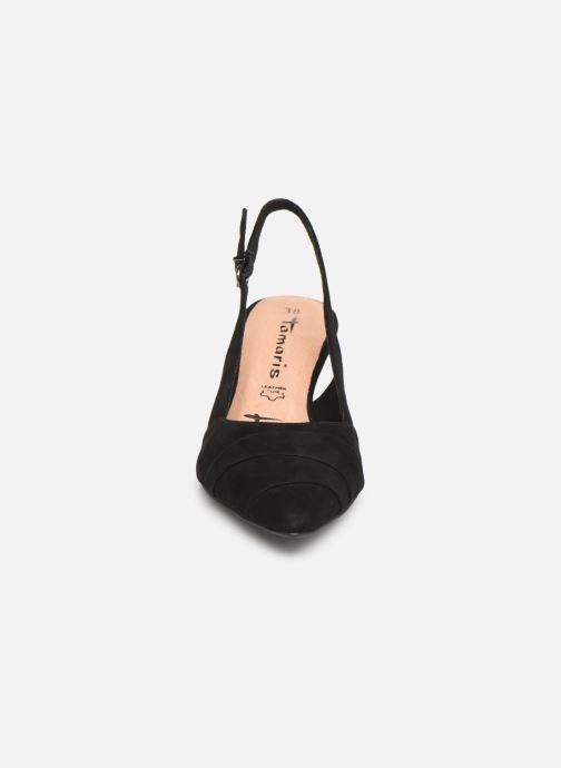 Escarpins Tamaris Ciera Noir vue portées chaussures