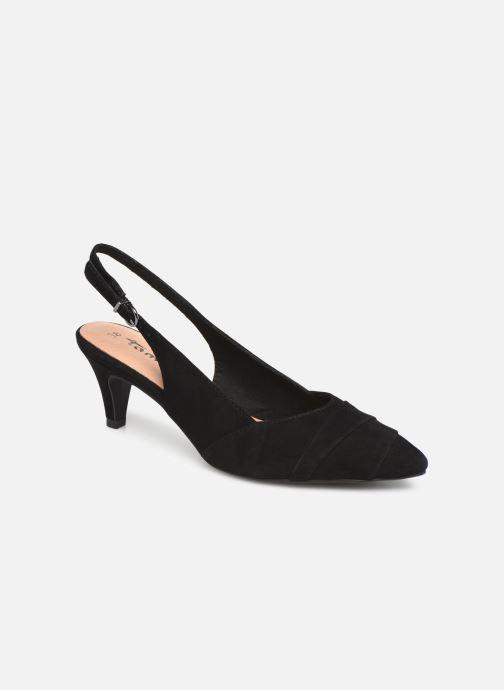 High heels Tamaris Ciera Black detailed view/ Pair view