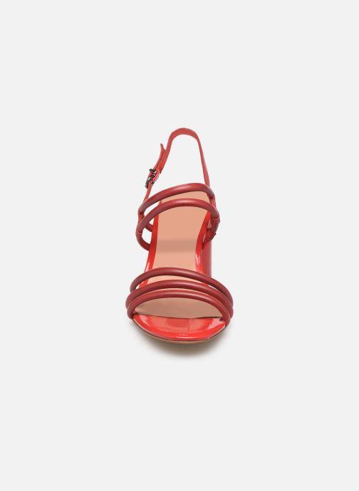 Sandales et nu-pieds Tamaris Cristal Rouge vue portées chaussures