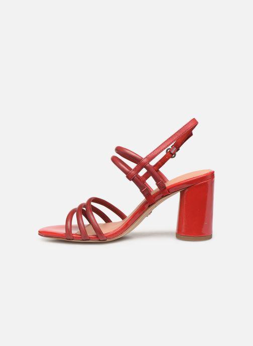 Sandales et nu-pieds Tamaris Cristal Rouge vue face