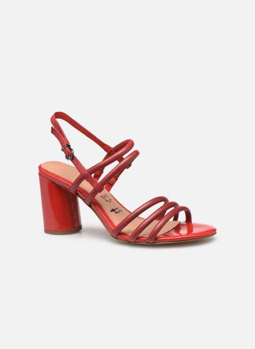 Sandales et nu-pieds Tamaris Cristal Rouge vue derrière