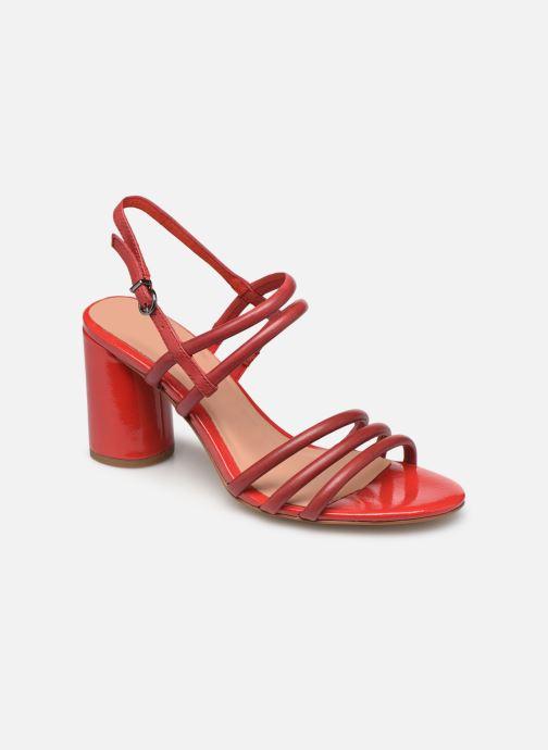 Sandales et nu-pieds Tamaris Cristal Rouge vue détail/paire