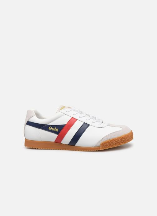Trainers Gola Harrier Leather White back view