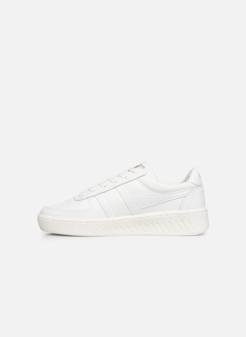 Sneakers Gola Grandslam Leather Bianco immagine frontale