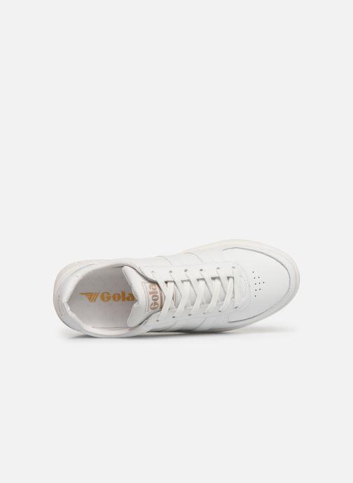 Sneaker Gola Grandslam Leather weiß ansicht von links