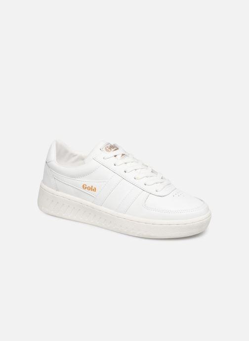 Baskets Gola Grandslam Leather Blanc vue détail/paire